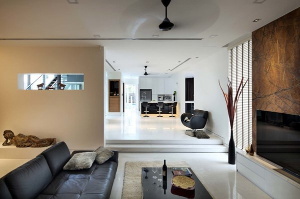 modern japanese style living room