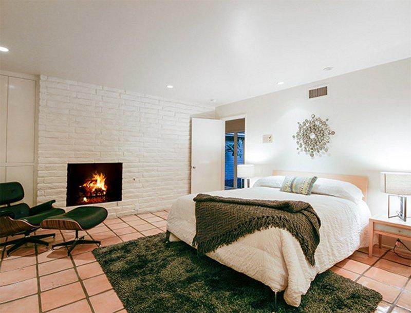 mid century modern bedroom inspiration