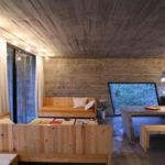BAK Architects construct Concrete house in Mar Azul Forest13