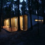 BAK Architects construct Concrete house in Mar Azul Forest17