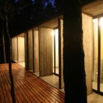 BAK Architects construct Concrete house in Mar Azul Forest18