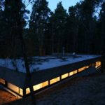 BAK Architects construct Concrete house in Mar Azul Forest22