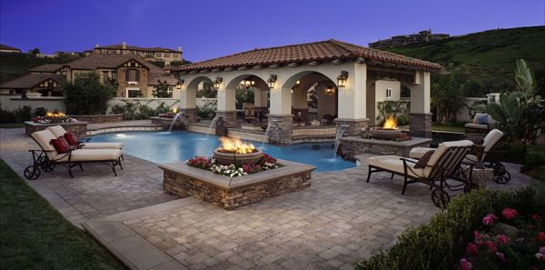 Awesome Outdoor Living Ideas From Belgard on Backyard Pool Decor Ideas id=11275