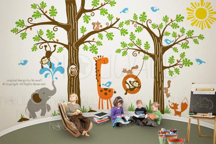 Jungle Themed Wall Art