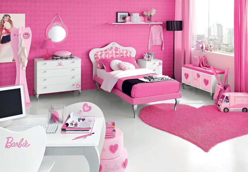 Barbie Themed Hotel Rooms