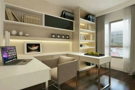 How To Decorate and Furnish A Small Study Room