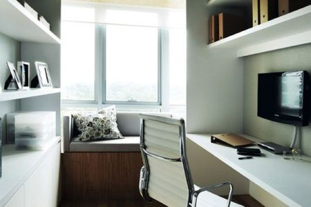 How To Decorate and Furnish A Small Study Room View in gallery