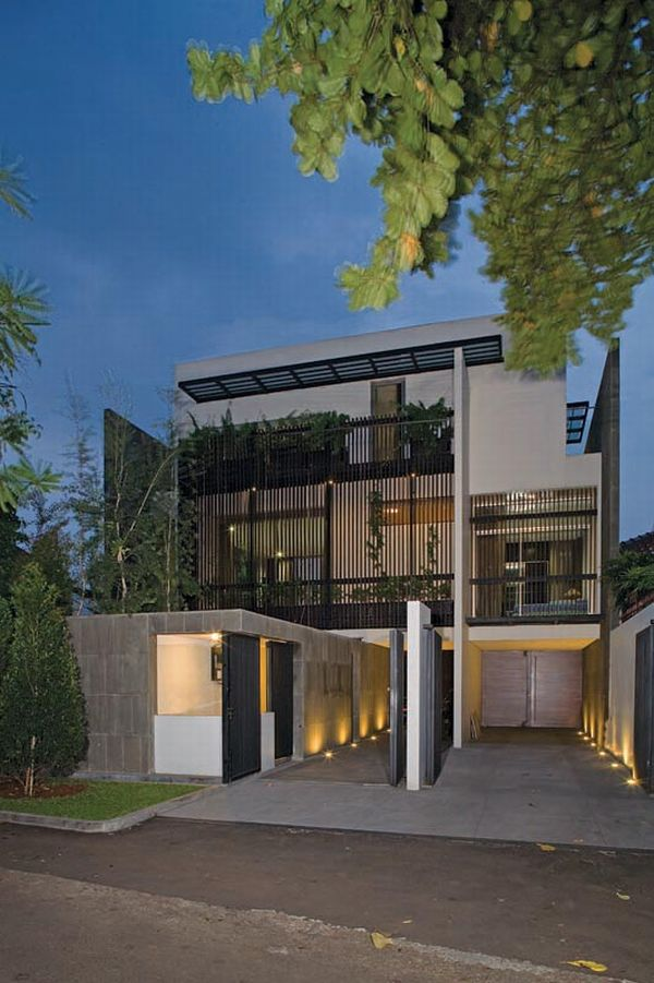 Exquisite Split Level House In Jakarta Indonesia