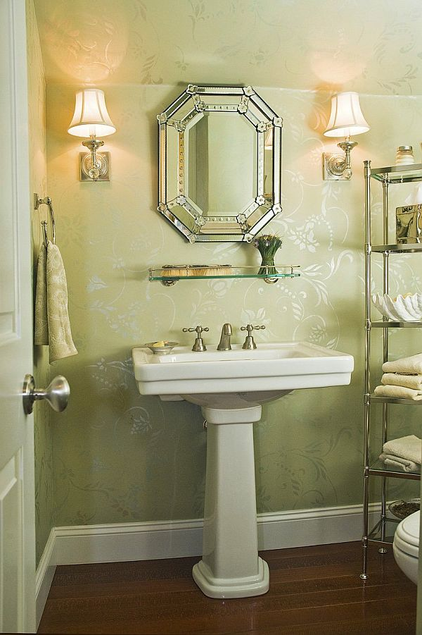 Powder room decoration: awesome!! on Pictures Room Decor  id=52605