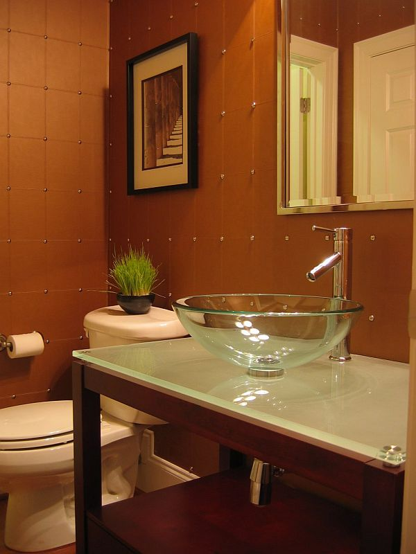 Powder room decoration: awesome!! on Pictures Room Decor  id=97411