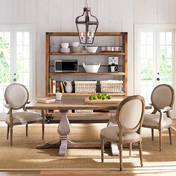 Classic Louis XVI Dining Chair