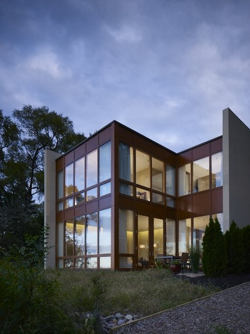 Ogden Dunes Indiana Residence With Private Courtyard
