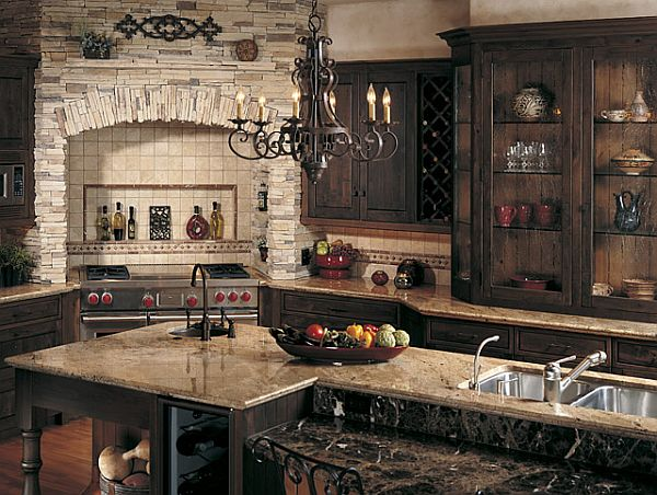 French Country Inspired Kitchens
