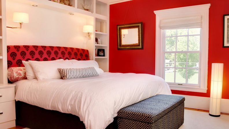 title   Black White And Red Bedroom Decorating Ideas