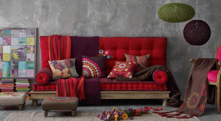 Bellissima credenza con un anta e tre cassetti in vimini in stile shabby chic. 40 Fall Winter Trends From Maison Du Monde