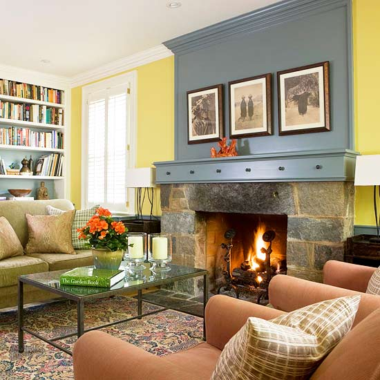Fireplace Decorating Bedroom And Living Room Image Collections Decoration Above