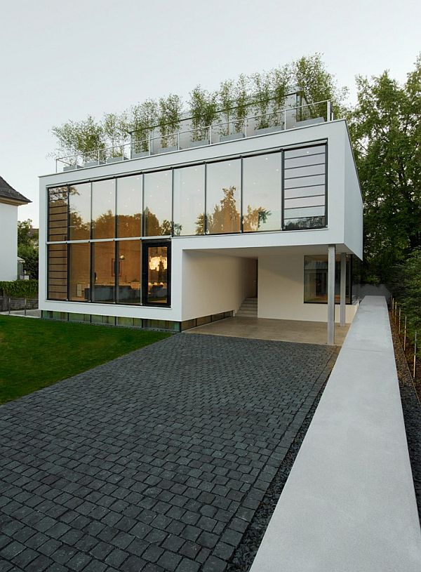 4 Storey Single Family House By Roger Christ