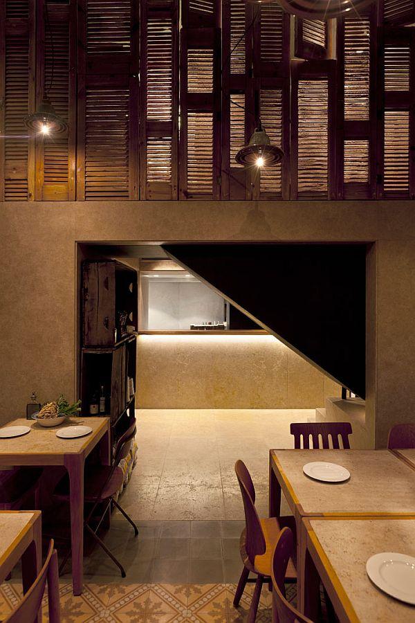 The Capanna Pizzeria Interior Design By K Studio