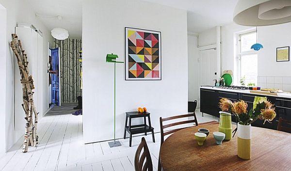 Elegant And Playful Danish Apartment
