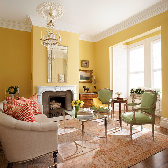 Living Room Color Ideas Yellow