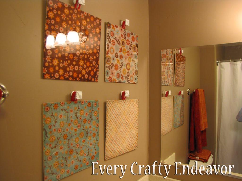 Easy Art And Craft Ideas Home Decor
