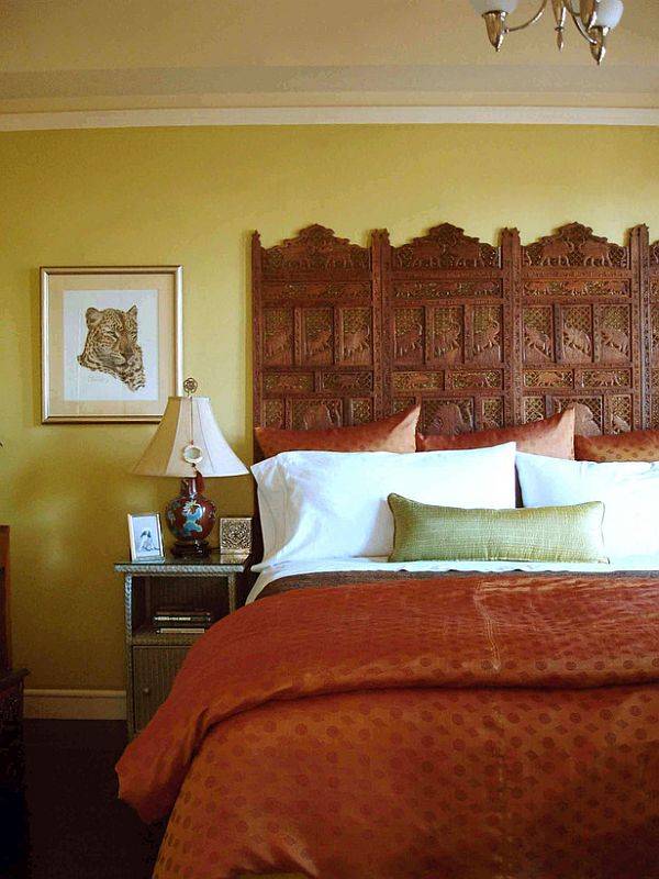 34 DIY headboard ideas Indian headboard project
