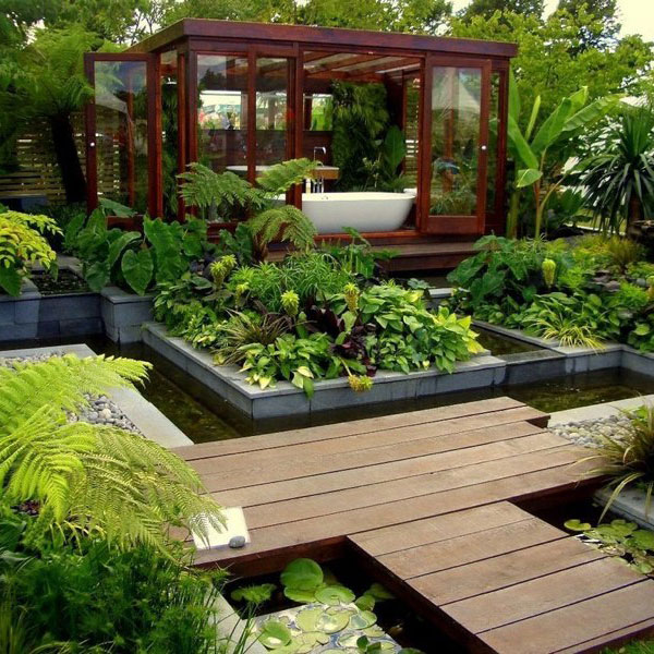 Ten inspiring garden design ideas on Landscape Design Ideas  id=14346