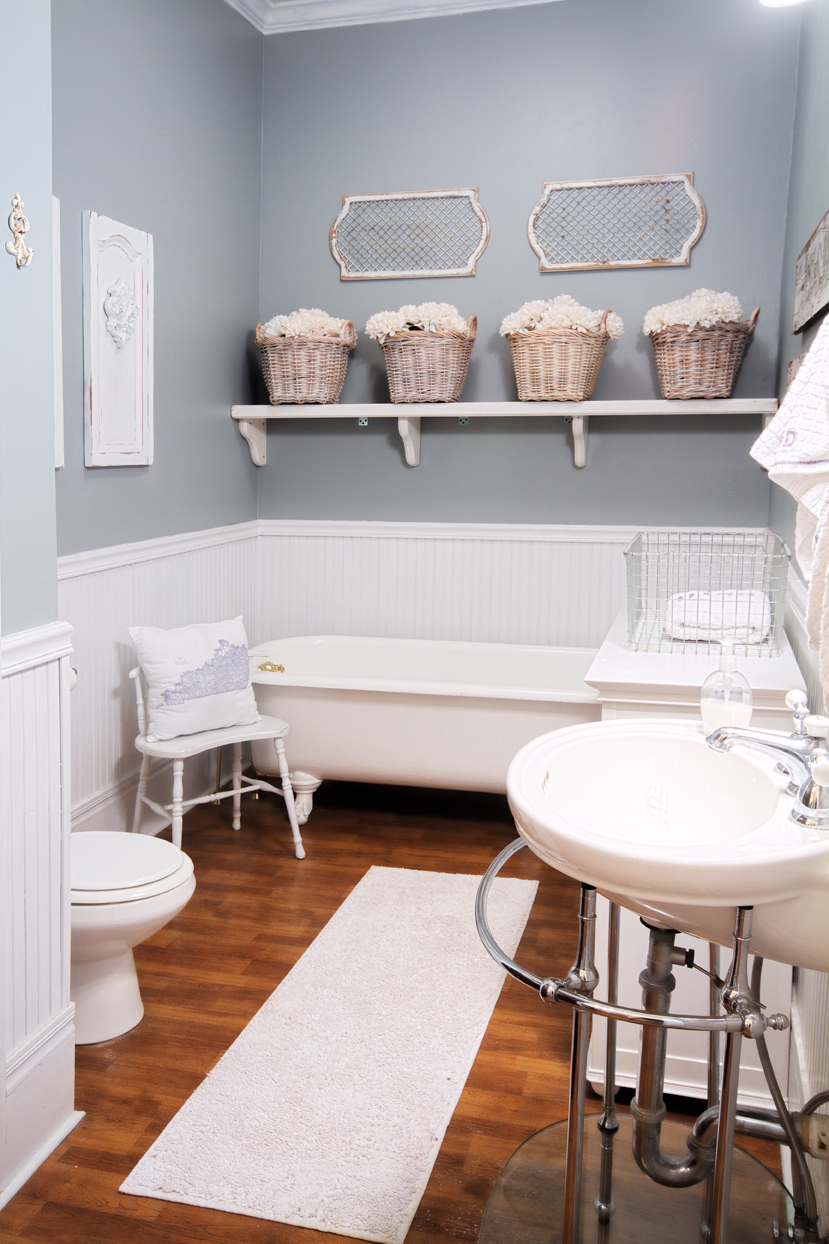 Before And After Small Bathroom Makeovers Big On Style