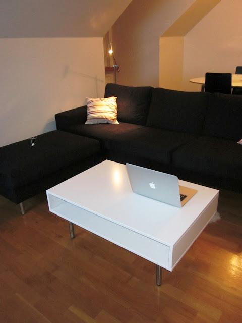 minimalist and modern diy coffee table