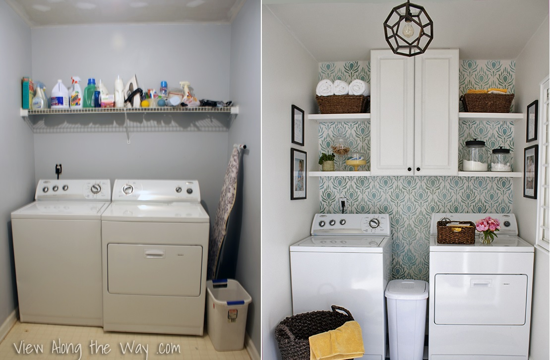 6 Laundry Room Reveals To Inspire Your Next Makeover on Laundry Room Decor  id=77712