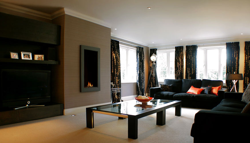 Living Room Ideas Black Couch Jihanshanum