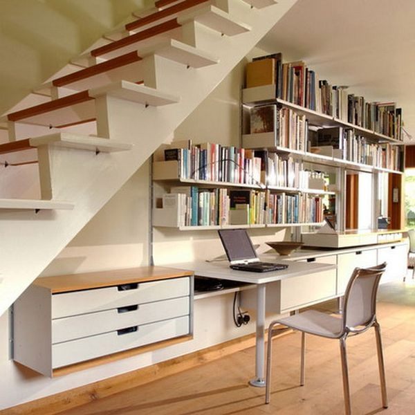 60 Under Stairs Storage Ideas For Small Spaces Making Your House   Stair Designs For Small Areas   Creative   Simple   Steep Stair   Trendy   Living Room