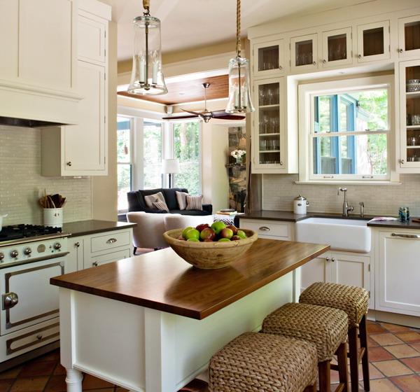 20 Charming Cottage Style Kitchen Decors