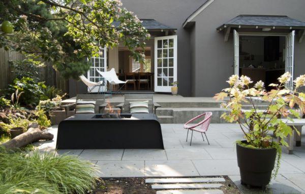 How to Create a Modern Rustic Backyard on Contemporary Backyard  id=47188