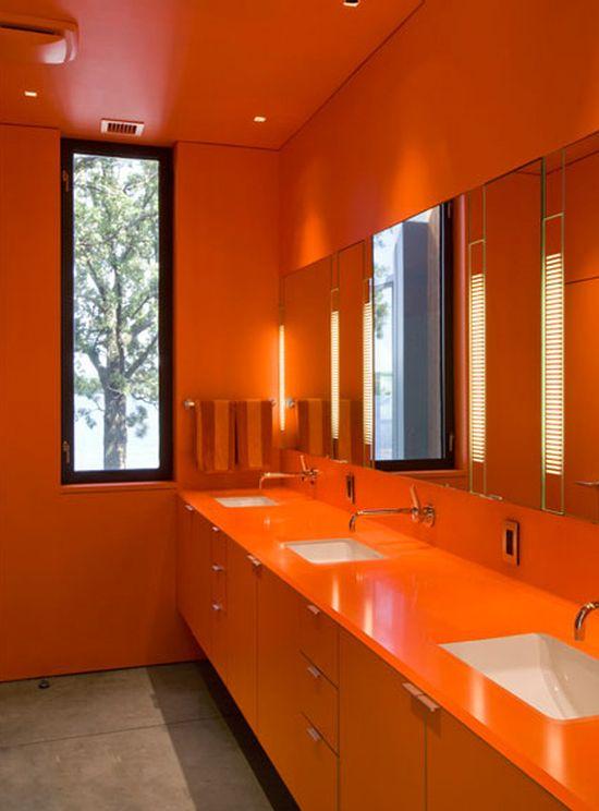 6 Ways To Make A Monochromatic Bathroom Pop! on Monochromatic Bathroom Ideas  id=82154