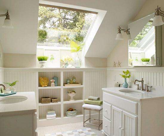 6 Ways To Make A Monochromatic Bathroom Pop! on Monochromatic Bathroom Ideas  id=53513
