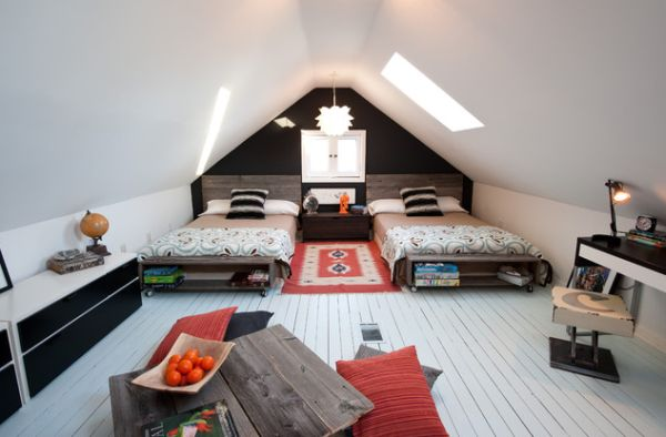 Creative Ways Of Using The Attic Space