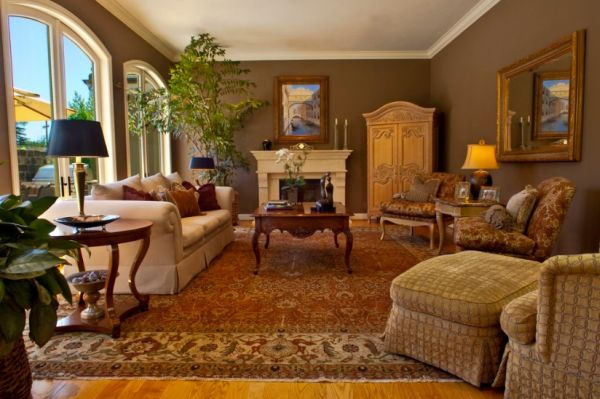 10 Traditional living room d233cor ideas