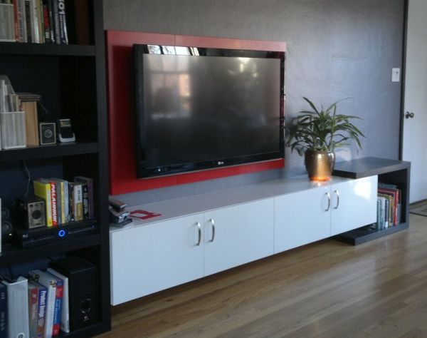 TV Frame Ideas A Way To Personalize Your Home Without