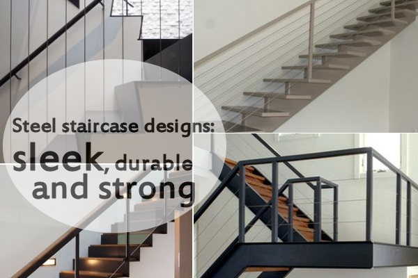 10 Steel Staircase Designs Sleek Durable And Strong | Metal Staircases For Homes | Beam | Stainless Steel | Support | Statement | Metallic