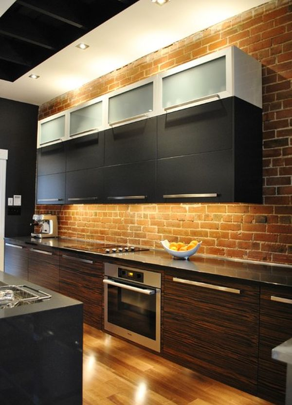 Modern Rustic Kitchen Backsplash