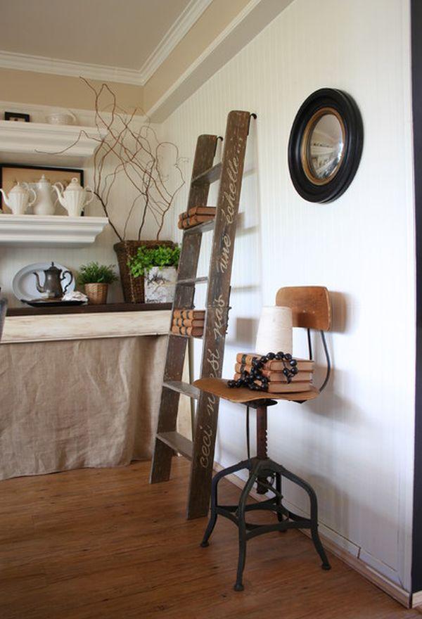 Alluring Ladder Book Case Design For Your E Ideas Bookcase Decorating Inspiration