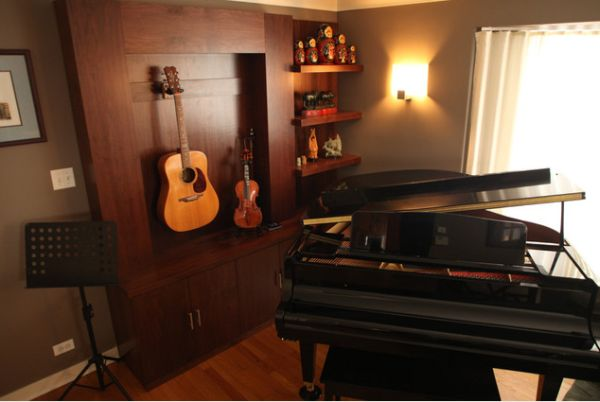 Display Your Collection Of Musical Instruments For A