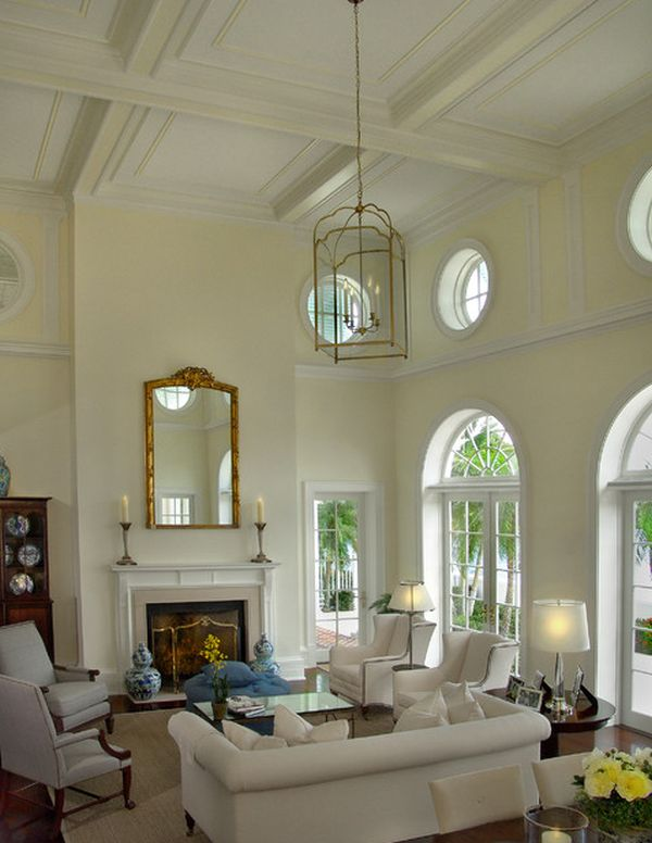 Interesting Images Of Various High Ceiling Lighting Ideas For Home Interior Decoration Modern Living