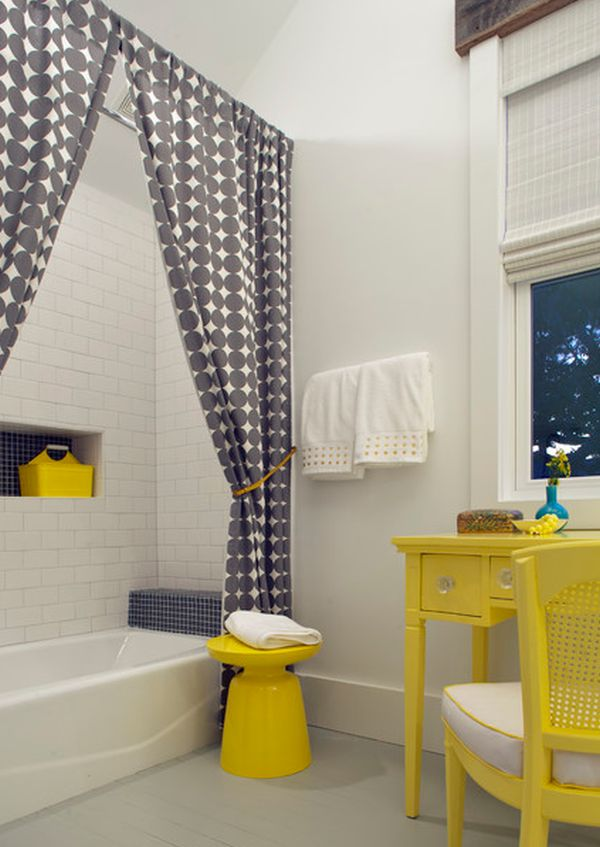 ideas for bathroom curtains pictures