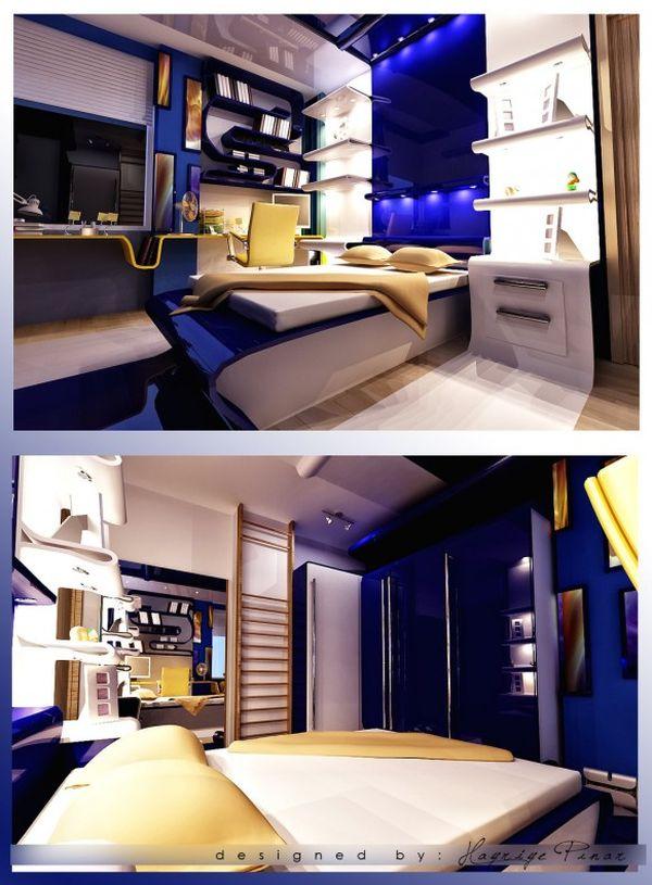 40 Teenage Boys Room Designs We Love on Bedroom Designs For Teenage Guys  id=47110