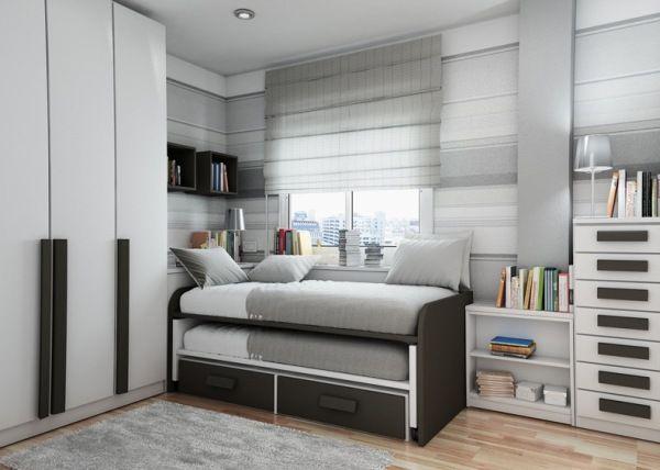 40 Teenage Boys Room Designs We Love on Teenage Grey Small Bedroom Ideas  id=93063