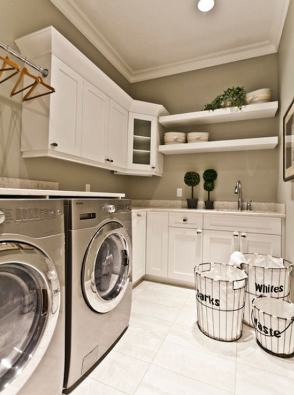 five great ideas for a revamped laundry room on paint for laundry room floor ideas images id=39361