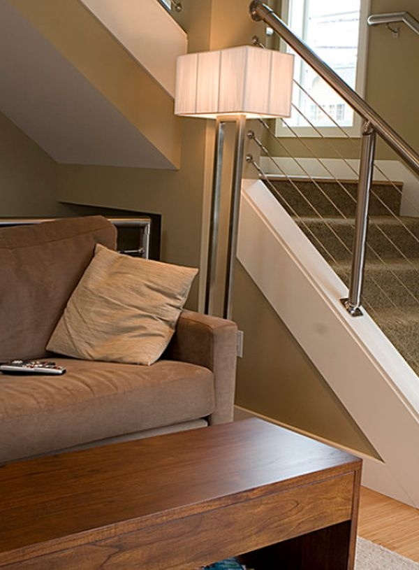Modern Handrail Designs That Make The Staircase Stand Out | Modern Home Stair Railings | Single Moulding | Stainless | House | Wall Mounted | Mountain