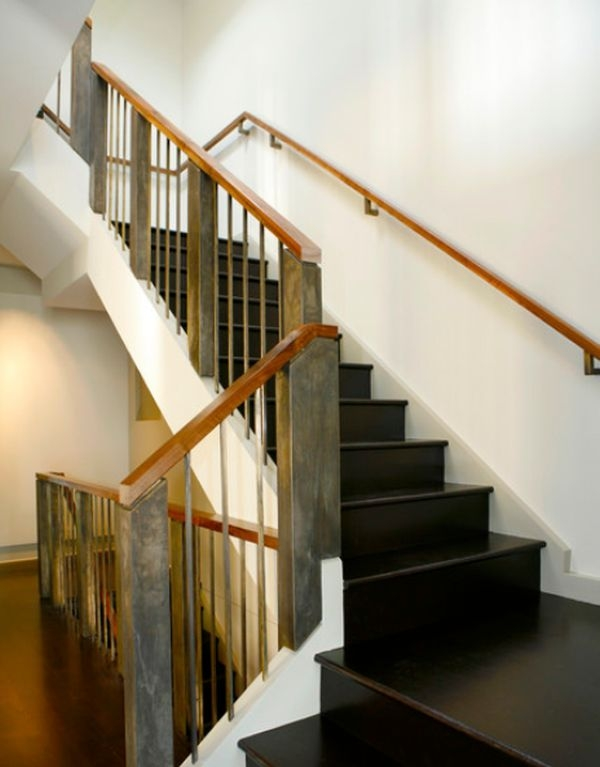 Modern Handrail Designs That Make The Staircase Stand Out   Wooden Staircase Handle Designs   Balusters   Stainless Steel   Stair Case   Modern Stair Railings   Stair Parts